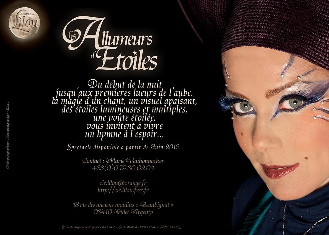 Jaquette Interieure Du DVD Spectacle Les Fabuleuses Aventures De Lilou La Pestouille Compagnie